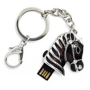 """Флешка """"USB Конь"""" черный 16Гб (03164C-16-Гб)"""