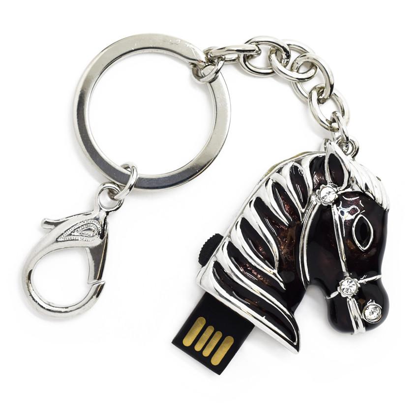 """Флешка """"USB Конь"""" черный 64Гб (03164C-64-Гб)"""