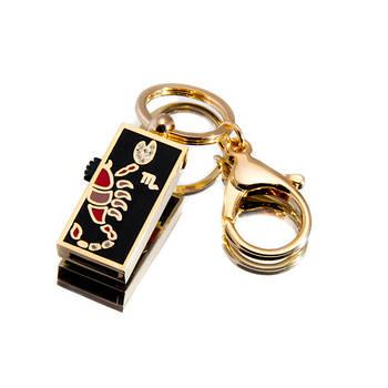 """Флешка """"USB Скорпион"""" золотистый 64Гб (03202A-64-Гб)"""