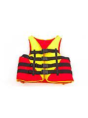 Жилет спасательный UR PL-3548-110-130 (нейлон, ремни-PL,вес пол.110-130кг,нап.-пенополиэтил)