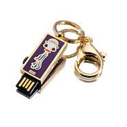 """Флешка """"USB Водолей"""" зототистый 16Гб (03205A-16-Гб), фото 2"""
