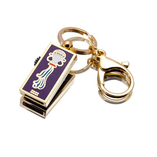 """Флешка """"USB Водолей"""" золотистый 64Гб (03205A-64-Гб)"""