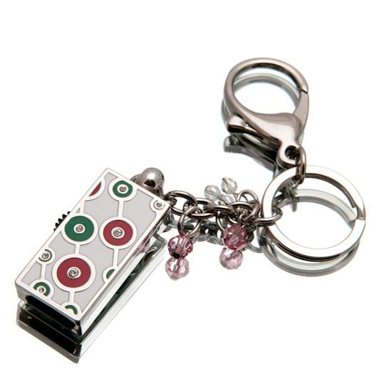 "Флешка ""Кольца Удачи"" зеленая 16Гб (03155C-16-Гб)"
