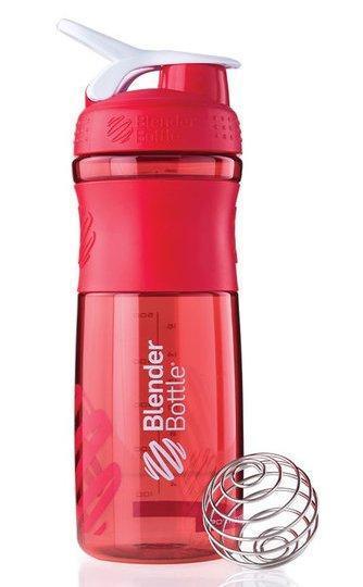 Спортивная бутылка-шейкер BlenderBottle SportMixer 820ml Red (ORIGINAL)