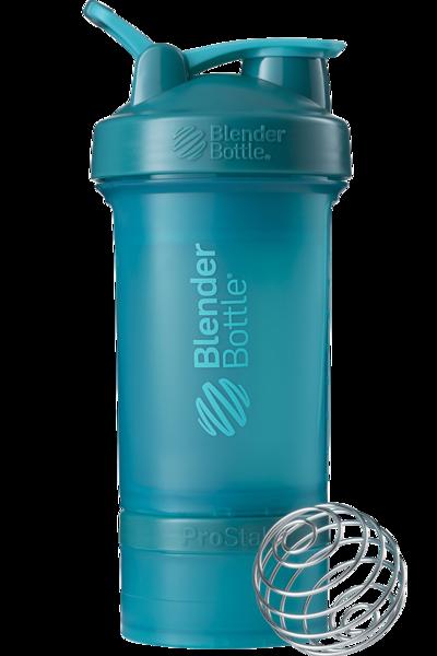 Шейкер спортивный BlenderBottle ProStak 650ml с 2-мя контейнерами Teal (ORIGINAL)