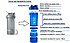 Шейкер спортивный BlenderBottle ProStak 650ml с 2-мя контейнерами Grey (ORIGINAL), фото 5