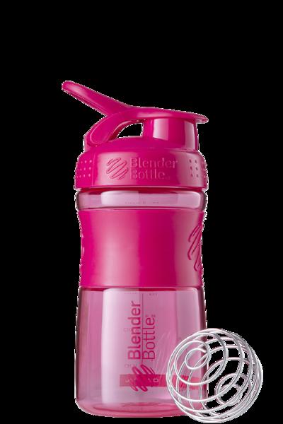 Спортивная бутылка-шейкер BlenderBottle SportMixer 590ml Pink FL (ORIGINAL)