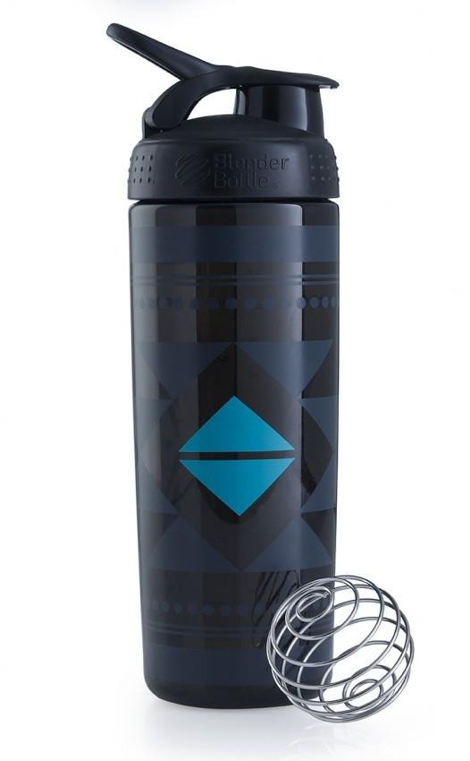 Спортивная бутылка-шейкер BlenderBottle SportMixer Signature Sleek BLACK DIAMOND NATIVE 820мл (ORIGINAL)