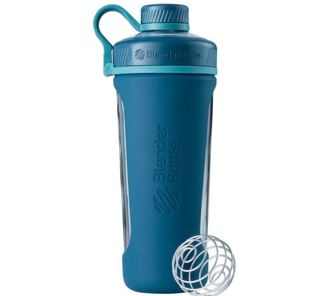 Спортивная бутылка-шейкер BlenderBottle Radian Glass Sea (скло ) 820мл (ORIGINAL)