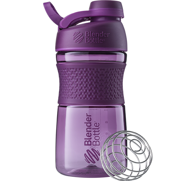 Спортивная бутылка-шейкер BlenderBottle SportMixer Twist 590ml Plum (ORIGINAL)