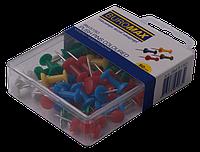 Кнопки-гвоздики цветные 50шт, фото 1