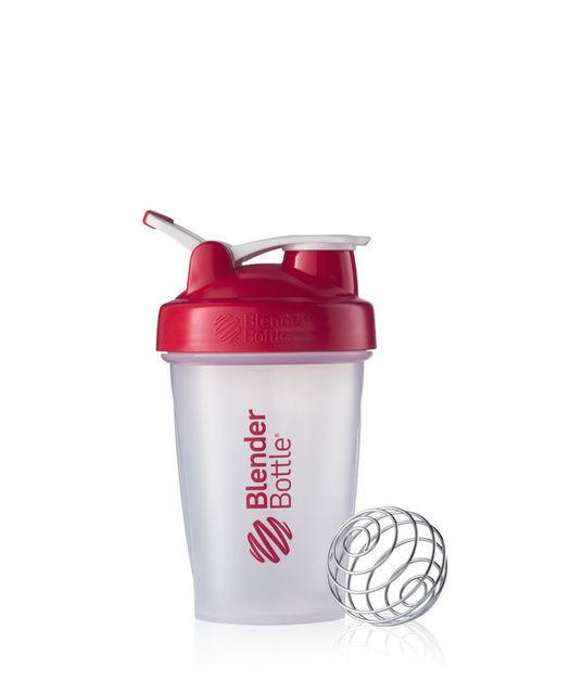 Спортивный шейкер BlenderBottle Classic Loop 590ml Clear/Red (ORIGINAL)