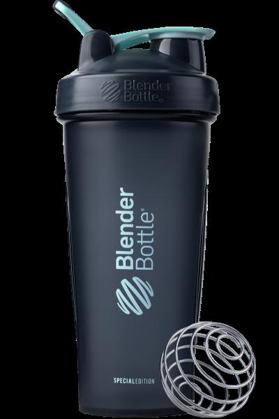 Спортивный шейкер BlenderBottle Classic Loop 820ml Special Edition Glacier Black/Agua (ORIGINAL)