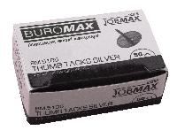 Кнопки никелированные 50шт JOBMAX