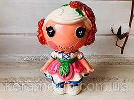 Скарбничка керамічна Лялька h 27 см