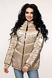 Куртка стеганая демисезонная, выполнена из плащевой ткани Размер: 44,46,48,50,52, фото 5
