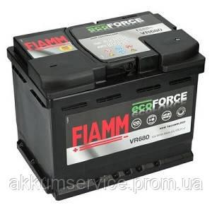 Аккумулятор автомобильный Fiamm Ecoforce AGM 60AH L+ 680А (VR680)