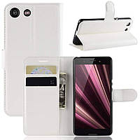 Чехол-книжка Litchie Wallet для Sony Xperia Ace / XZ4 Compact White