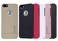 Чехол для iPhone 5, iPhone 5S, iPhone SE - Nillkin Super Frosted Shield, матовый, пластик