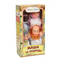 Кукольный театр Маша и медведь 4 персонажа