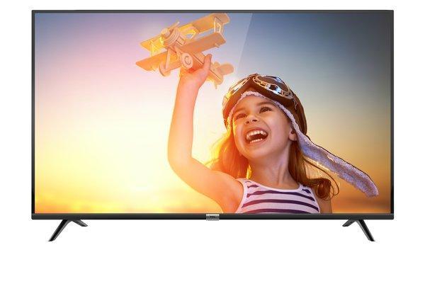 Телевизор TCL U60P6026 (РРI 1200Гц / UltraHD / 4K / SmartTV/ Dolby Digital Plus/ 2х10Вт / DVB-С/T2/S2)