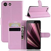 Чохол-книжка Litchie Wallet для Sony Xperia Ace / XZ4 Compact Pink