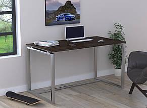 Стол письменный в стиле Loft Q-135-без царги и без отверстия под провода-LoftDesign, фото 3