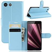Чохол-книжка Litchie Wallet для Sony Xperia Ace / XZ4 Compact Blue