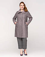 Женское демисезонное пальто большие размеры рр 50-64