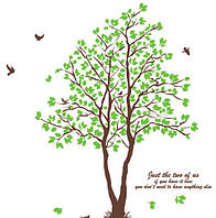 Интерьерная наклейка на стену Дерево