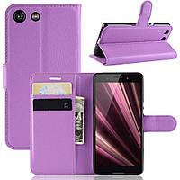 Чохол-книжка Litchie Wallet для Sony Xperia Ace / XZ4 Compact Violet