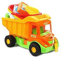 Игровой Набор для песка с Машинкой Wader 70340