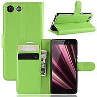 Чохол-книжка Litchie Wallet для Sony Xperia Ace / XZ4 Compact Green
