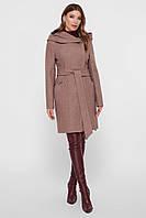 Женское демисезонное пальто с капюшоном   рр 42-52