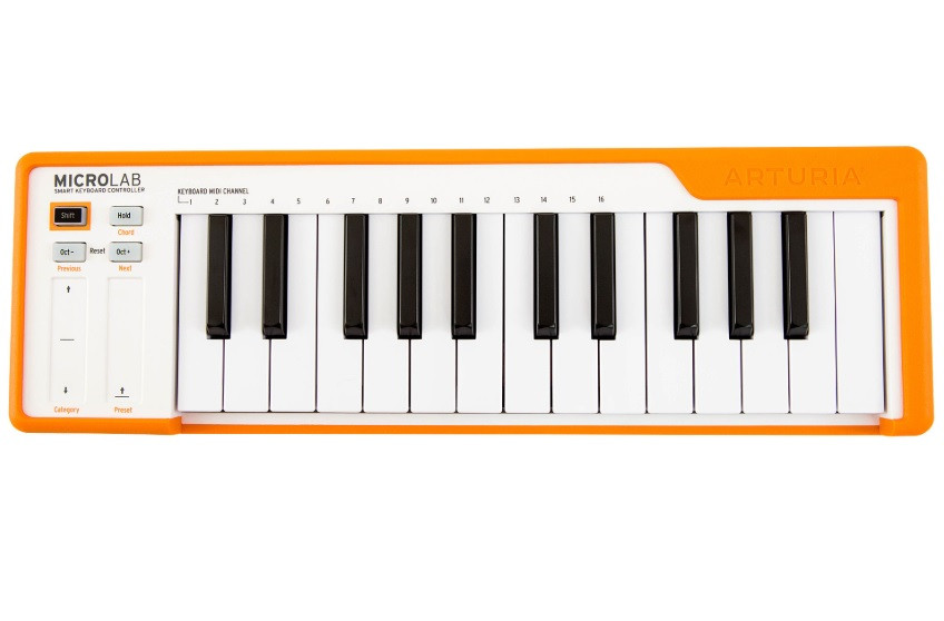 Міді-клавіатура контролер Arturia MicroLab Orange