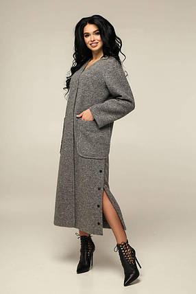 Женское демисезонное пальто В-1239, фото 2