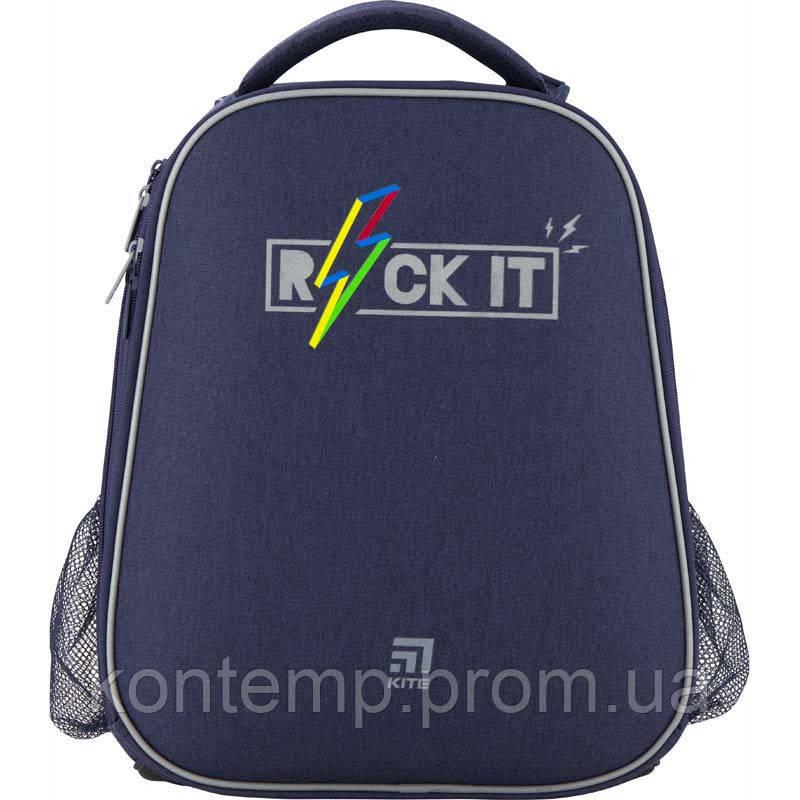 Рюкзак шкільний каркасний Kite Education Rock it K20-531M-2