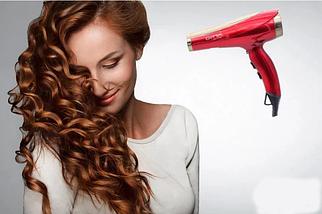 Фен для укладки волос / Фен профессиональный для волос Gemei GM-1768, мощность 2000 В, фото 3