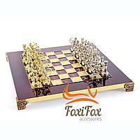 Шахматы ручной работы Manopoulos Лучники 28*28 см