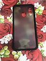 Чехол бампер накладка на Samsung A40 2019 (A405F) противоударный цветная окантовка черный красные кнопки, фото 4