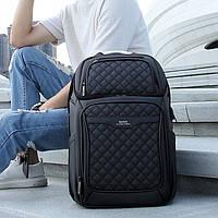 """Мужской Рюкзак для Ноутбука 15.6"""" и Планшета ROWE (R8260) Городской с Зарядкой USB Черный"""