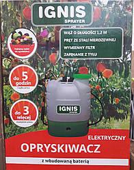 Аккумуляторный опрыскиватель Ignis объемом 16 литров
