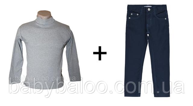 водолазка с джинсами фото