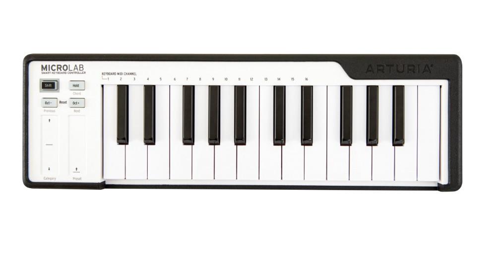Міді-клавіатура контролер Arturia MicroLab Black