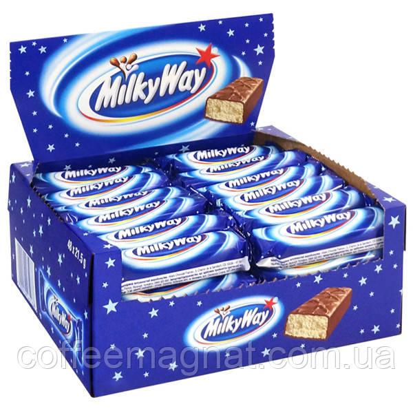 Батончик Milky Way 21,5 г (упаковка 56 шт)