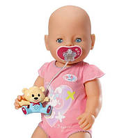 Интерактивная Соска с мишкой для куклы Baby Born Zapf Creation 819258M