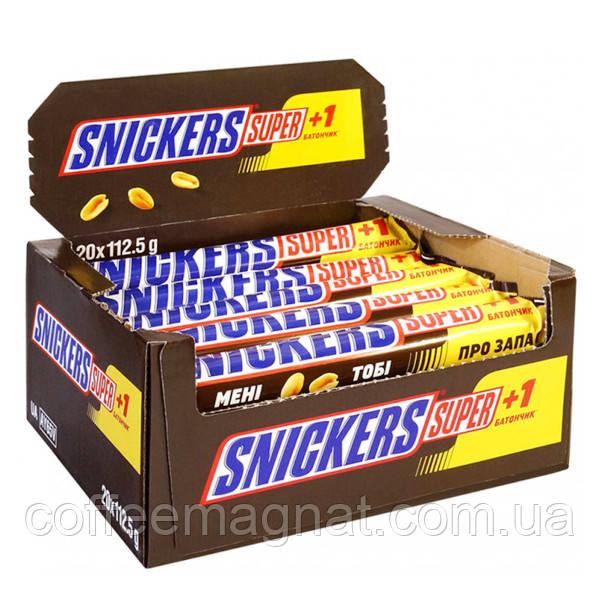 Батончик Snickers 112,5 г (упаковка 20 шт)