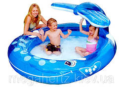 Детский надувной бассейн Intex 57435 веселый кит