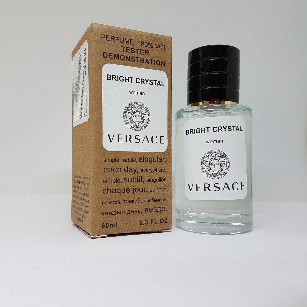 Versace Bright Crystal - Selective Tester 60ml
