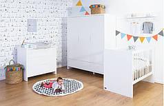 Коллекция детской мебели CHILDHOME QUADRO WHITE